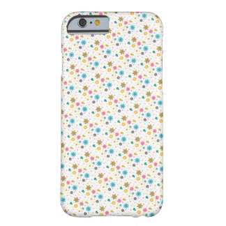 Cute Colourful Floral Pattern iPhone 6 Case / Skin Barely There iPhone 6 Case
