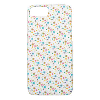 Cute Colourful Floral Pattern iPhone 7 Case / Skin