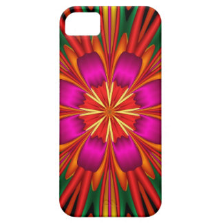Cute colourful kaleidoscope flower iPhone 5 cover