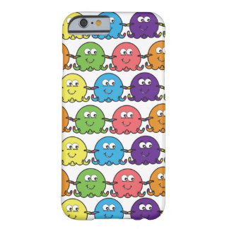 Cute Colourful Octopus - iPhone 6 Case/Skin/Cover Barely There iPhone 6 Case