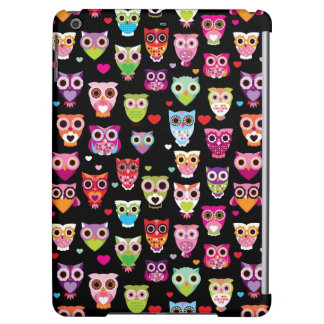 cute colourful owl kids pattern