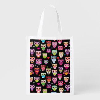 cute colourful owl kids pattern