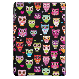 cute colourful owl kids pattern case for iPad air