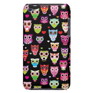 cute colourful owl kids pattern iPod Case-Mate case