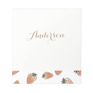 CUTE COLOURFUL WATERCOLOR EASTER EGGS MONOGRAM NOTEPAD