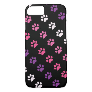 Cute Colred Dog Paws Pattern iPhone 8/7 Case