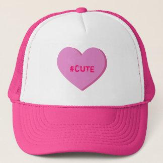 Cute Conversation Heart Hat
