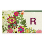 Cute Cool Girly Retro Floral Fashion Pack Of Standard Business Cards