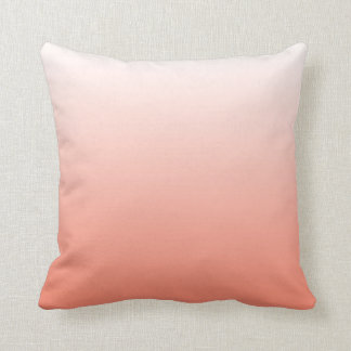 Cute Coral Ombre Cushion