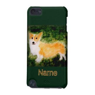 Cute Corgi Dog Art iPod Touch (5th Generation) Covers