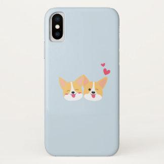 Cute Corgi Dog Iphone X Case