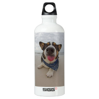 Cute Corgi with Tongue Out SIGG Traveller 0.6L Water Bottle