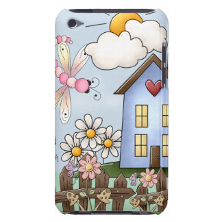 Cute Country Folk Art Picture Barely There iPod Case