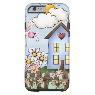 Cute Country Folk Art Picture Tough iPhone 6 Case