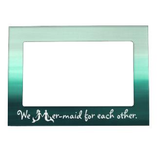 Cute Couple Mermaid Frame