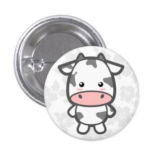 Cute Cow 3 Cm Round Badge