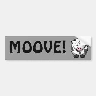 Cute Cow Bumper Sticker