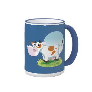 Cute Cow Cartoon Mug Coffee Mugs