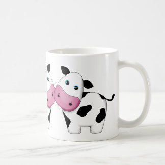 Cute Cow Couple Mug