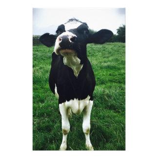 Cute cow farm animal calf stationery