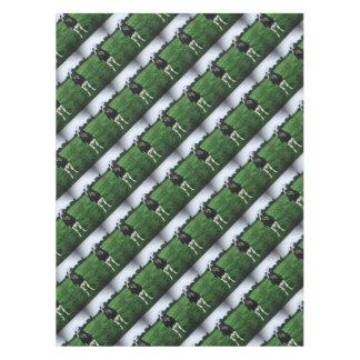 Cute cow farm animal calf tablecloth