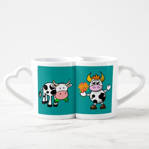 Cute Cow Lovers' Mug Couples Mug