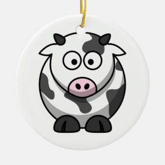 Cute Cow Ornament