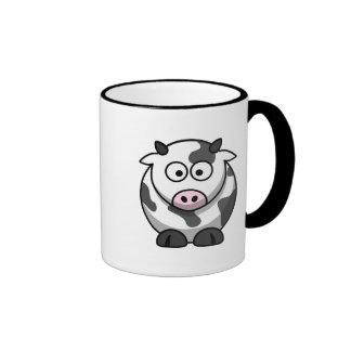Cute Cow Ringer Mug