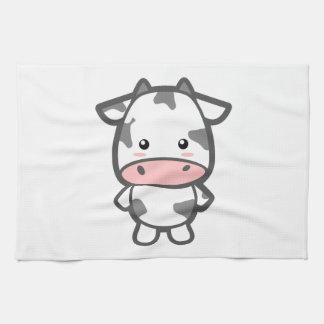 Cute Cow Tea Towel