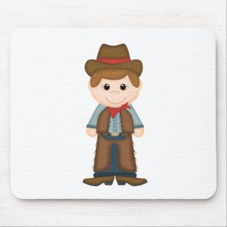 Cute Cowboy Mouse Pad