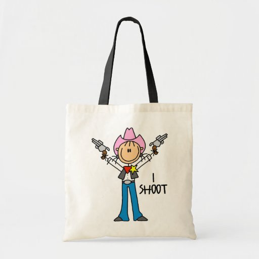 Cute Cowgirl Gift Tote Bags
