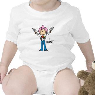 Cute Cowgirl Gift Baby Bodysuit
