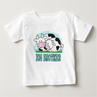 Cute Cows Big Brother Baby T-Shirt
