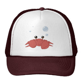 Cute crab cap