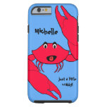 Cute Crab Crabby Personalised iPhone 6 case Tough iPhone 6 Case