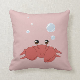Cute crab cushion