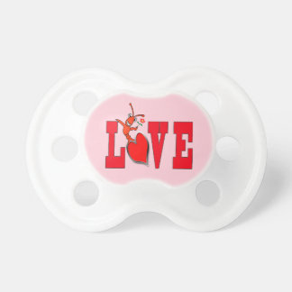Cute Crawfish / Lobster Love Baby Pacifier