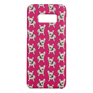 Cute cream Frenchie is ready to play Case-Mate Samsung Galaxy S8 Case