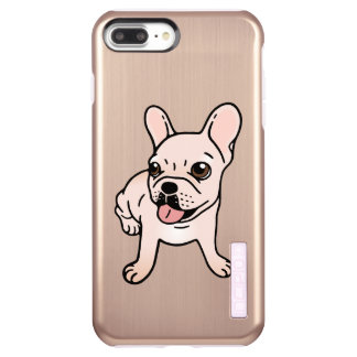 Cute cream Frenchie is ready to play Incipio DualPro Shine iPhone 8 Plus/7 Plus Case