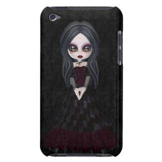 Cute & Creepy Goth Girl iPod Touch Case