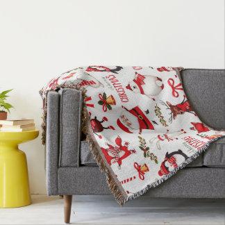 Cute Cristmas Mix Throw Blanket