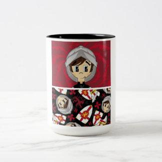 Cute Crusader Knight Coffee Cup