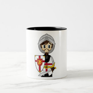 Cute Crusader Knight Coffee Mug