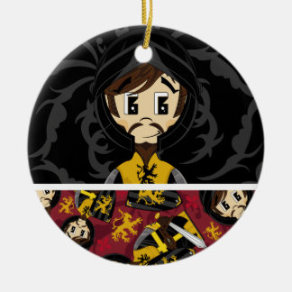 Cute Crusader Knight Ornament