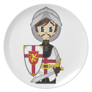 Cute Crusader Knight Plate