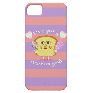 Cute Crust on You Valentine's Day Pun iPhone 5 Cover