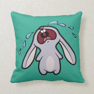 Cute Crying Bunny Reversible Cushion