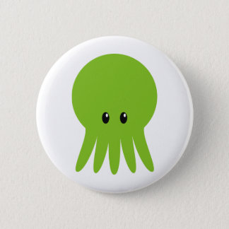 Cute Cthulhu 6 Cm Round Badge