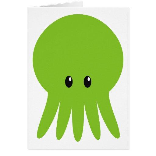 Cute Cthulhu Card