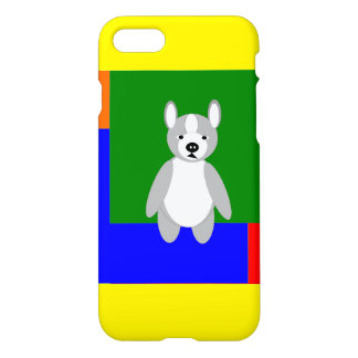 Cute cuddly and Lovable Boston Terriers iPhone 7 Case